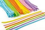Baker Ross Großpackung Pfeifenreiniger - bunt - Osterfarben - für Kinder zum Basteln und Dekorieren - 120 Stück