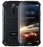 DOOGEE S40 Robustes 4G Android 9,0 Handy ohne Vertrag,5,5' HD (Gorilla Glass 4) IP68 Outdoor wasserdichtes Telephone DUAL SIM Militär Smartphone, 4650mAh Akku, Quadcore 1,5GHz 2GB+16GB NFC - Schwarz