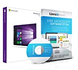 Original Microsoft Windows 10 Professional 64bit - aktuellste Version mit allen Updates. DVD Box Lizenza PRO, Lizenzunterlagen, Zertifikat & Lizenzschlüssel