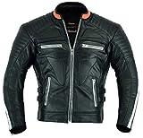 Apex Motorrad Leder Schutzjacke gepolstert, XL