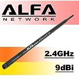 ALFA 9dBi 2,4GHz WLAN RP-SMA-Hochleistungsantenne