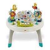 Fisher-Price FVD25 2-in-1 Activity Spielcenter Spieltisch mit Musik und Geräuschen inkl. Tierspielzeug für Babys und Kleinkinder