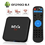 Android 8.1 TV Box Superpow MXQ Mini S Android Box 2GB RAM+16GB ROM Quad-Core mit 3D/ 4k / 2.4Ghz WiFi / 100 LAN / H.265, HDMI Smart TV Box