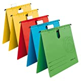 Herlitz 5874953 Hängehefter A4 UniReg kaufmännisch, Kraftkarton, 230 g/qm, 5er Packung (Farben sortiert)