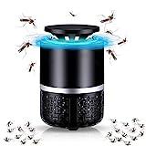 Insektenvernichter Elektrisch,Elektrischer Insektenvernichter UV Insektenfalle Mückenlampe,Insektenfalle Lampe, Stummschaltung, Keine Strahlung ungiftig, für Innen und Außeneinsatz