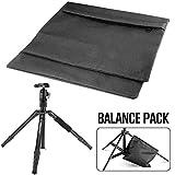 Lxquxing Sport im Freien 2 Packungen Set Hochleistungs-Foto-Sandsack Studio Video Balance Sandsack Sattelgewichtstaschen mit Doppelreißverschlüssen for Stativ, Lichtständer, Boomständer Boxen