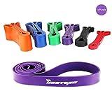 [Resistance Band] BESTOPE Premium Latex Pull Up Fitnessbänder Widerstand-Bänder Trainingsbänder Strap Training Loop CrossFit-band für Stärke Gewichtstraining und Yoga