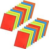 com-four 20x Kartonschnellhefter DIN A4 - Schnellhefter in bunten Farben - Hefter aus Pappe für Schule, Büro und zu Hause (20 Stück - Kartonschnellhefter bunt)