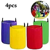 Joyibay Hüpfsäcke für Kinder, Sackhüpfen Hüpfsäcke Spielset ideal für Partys und Sportfeste, Robust, mehrfarbig