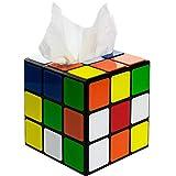 getDigital Zauberwürfel Taschentuchbox aus The Big Bang Theory - Magic Cube Taschentuch-Spender mit magnetischem Verschluss - Ausgefallene Deko-Box für Fans der Serie
