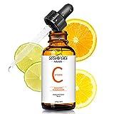 Vitamin C Serum für Gesicht- 20% VC Serum with Hyaluronsäure and Vitamin E,Natürliches und organisches Anti-Falten-Anti-Aging Gesichts Serum(30ml)