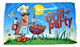 Flagge / Fahne Grill Party Grillfahne 90 x 150 cm