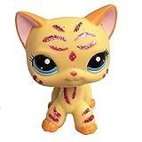 MEHRWEG Pet Shop Spielzeug-Set LPS, in Form Einer Katzenmaske, Kurze Haare (wählen Sie Ihre Katze) für Kinder Geschenk 1pc, 2118