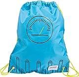 Baagl Turnbeutel für Junge, Wasserdichte Schuhbeutel für Kinder, Schule und Kindergarten Sportbeutel, Sportrucksack (Technic)