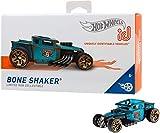 Hot Wheels iD FXB50 - Die-Cast Fahrzeug 1:64 Bone Shaker mit NFC-Chip zum Scannen in der Hot Wheels iD App, Auto Spielzeug ab 8 Jahren