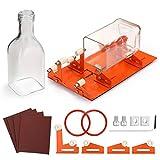 Fixm HS0213E-MBFBA Aktualisierte Flaschenschneider für verschiedener Größen und Formen wie Runde, Rechteckige, Ovale Flasche & Flaschenhals mit Extra Stütze für DIY Kreationen