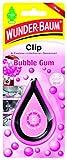 Wunder-Baum 20269 Lufterfrischer Clip Bubble Gum, Pink Schwarz