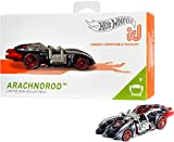 Hot Wheels iD FXB12 - Die-Cast Fahrzeug 1:64 Arachnorod mit NFC-Chip zum Scannen in der Hot Wheels iD App, Auto Spielzeug ab 8 Jahren