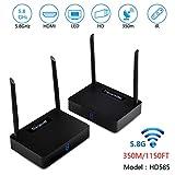 measy HD585 Wireless HDMI Wireless Extender / Adapter 350m/1150ft Video und digitales Audio von TV-Box, Monitor, HDTV oder Projektoren (576P)