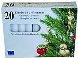 Christbaumkerzen - Baumkerzen - weiß (40)