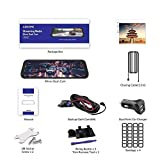 Streaming Media Recorder 10 Zoll 2.5D IPS Touchscreen Dual Aufnahme GPS Adas