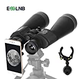 ESSLNB Größes Fernglas für Astronomie und Dämmerungsbeobachtung 15X70 Ferngläser mit Handy Adapter Stativadapter und Tasche für Kinder und Erwachsene