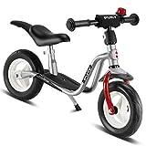 Puky LR M Plus 4072 Kinder Laufrad silberfarben Kinderlaufrad mit Klingel und Ständer