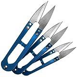 3 x Fadenschere/Nahttrenner / Fadenschneider in blau