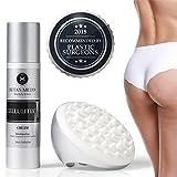 CellulitiX Innovative 3-1 Formel Anti-Cellulite Creme mit GRATIS Cellulite Massagegerät | Orangenhaut & Dehnungsstreifen bekämpfen – schnell & effektiv | Klinisch getestet und von Experten entwickelt