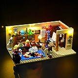 Briksmax Led Beleuchtungsset für The Big Bang Theory, Kompatibel Mit Lego 21302 Bausteinen Modell - Ohne Lego Set