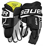 Bauer Supreme S170 Handschuhe Bambini, Größe:8 Zoll;Farbe:schwarz/weiß