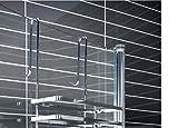 Duschkabinen Hängeregal 3 Etagen ohne Bohren Duschablage Badregal Duschregal auch in weiß erhältlich