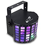 ETEC LED Derby Lichteffekt Butterfly Disco Party 9x1 Watt DMX Lichteffekt DJ Club