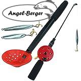 Angel Berger Eisangel Set komplett mit Zocker