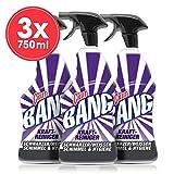 Cillit Bang Kraftreiniger schwarzer/weißer Schimmel und Hygiene, 3er Pack (3 x 750 ml)