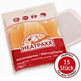 HeatPaxx Körperwärmer - Dünne Wärmepflaster für punktgenaue Wohlfühlwärme | 15 oder 40 Wärmespender im Vorteilspack (15)