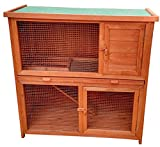 HTI-Line Hasenstall Rabbit Stall, Tiergehege, Käfig