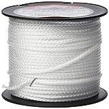 Connex COX781550 Maurerschnur, aus Polypropylen, geflochten, 100 m, Tragkraft max. 70 kg, Ø 2,0 mm, weiß