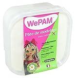 WePAM - PFWNEU145 - Lufthärtende Modelliermasse, 145 g, Farblos