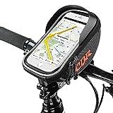 Rahmentaschen, Furado Fahrradtaschen Fahrrad Rahmentaschen für iPhone 7 Plus/6s Plus/6 Plus/Samsung s7 edge andere bis zu 6 Zoll Smartphone, Wasserabweisende Fahrrad-Rahmentasche, Fahrrad Handyhalterung, Neue verbesserte Edition, für alle Fahrradtypen geeignet, Farhradlenkertasche Fahrradtasche Lenker