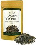 Jasmintee lose - Grüner Tee mit Jasminblüten ohne Aromazusatz / Ausgeprägter Jasmin-Duft und leicht fruchtiger Note / Jasmin Grüntee von TeaClub
