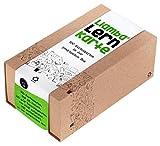 Liamba Lernkarte | 500 Karteikarten in der praktischen Lernbox DIN A8 Format, 7,4 x 5,2 cm, 190g/qm, liniert, FSC, Karteikartenbox mit Recyclingkarton aus Altpapier in Deutschland hergestellt