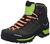 Salewa Ms Mtn Trainer Mid Gtx, Herren Trekking- & Wanderstiefel, Schwarz (Black/Sulphur Spring 0974), 40 EU