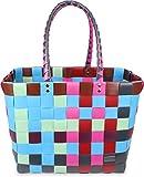 Einkaufstasche geflochten mit Henkeln - Tragetasche extra robust Farbe Classic / Fairytale
