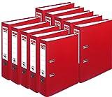 Herlitz Ordner maX.file protect A4, 8 cm breit (10er Pack | rot)