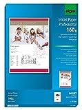 SIGEL IP286 InkJet-Papier Professional, A4, 100 Blatt, spezialbeschichtet matt, weiß, 160 g