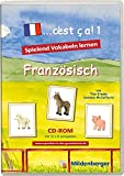 """... c'est ca!. Lernspiele für den Französischunterricht / """"... c'est ça 1"""" – Lernsoftware, Einzellizenz: Software zum Erlernen des französischen Wortschatzes"""