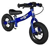 BIKESTAR Kinder Laufrad Lauflernrad Kinderrad für Jungen und Mädchen ab 2 - 3 Jahre  10 Zoll Sport Kinderlaufrad  Schwarz (matt)