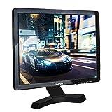 JaiHo 17-Zoll-Breitbild-TFT-LCD-Monitor, 1280x1024 Auflösung 1080P 4: 3 Full HD-Monitor Farbdisplay mit PC/BNC / VGA/AV / HDMI/USB Kopfhörereingang, integrierte Dual-Lautsprecher (17 inch 1280x1024)