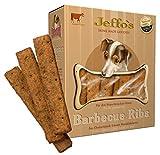 Jeffo Barbecue Ribs Hundekekse mit Rindfleisch (2 x 250g)